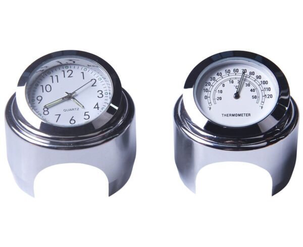 Instrument 22-25mm Motorcycle Handlebar Clock PAU_015L4WUW at TotalPro.com.au - Australia