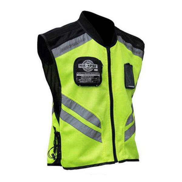 Safety Motorcycle Riding Fluorescent Jacket PAU_03995T65 at TotalPro.com.au - Australia
