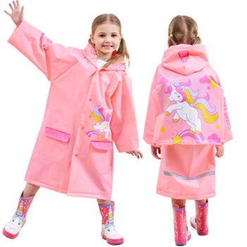 Thicken Student Backpack Raincoat Cartoon Fashion Inflatable Raincoat Pink unicorn_XXL PBY_0GAQTGF4 at TotalPro.com.au - Australia