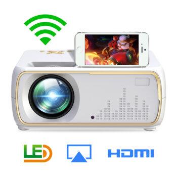 HD Projectors A20 Mini Projector HD 1080P TV Projector Home Cinema Projector  Same screen white AU plug PEL_087H6BMW at TotalPro.com.au - Australia