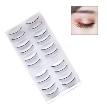 Cosmetics 10 Pairs 8mm Eyelash Extension Self-adhesive Practice Lashes Strip Grafted False Eyelashes As shown PBE_03ETD3W5 at TotalPro.com.au - Australia