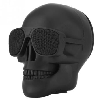 Bluetooth Speakers Portable Mini Skull Head Speaker Wireless Bluetooth Stereo Speaker HD Bass Speaker black PEL_04C3GP4F at TotalPro.com.au - Australia