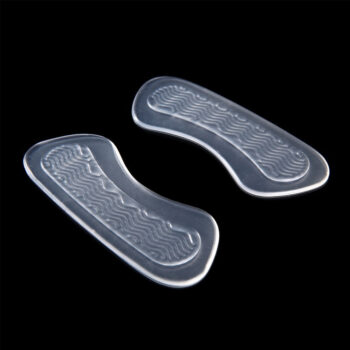 Foot Health Transparent Silicone Heel Patch High Heel Shoes Anti Slip Stickers with Point Massage PBE_034IVH5B at TotalPro.com.au - Australia