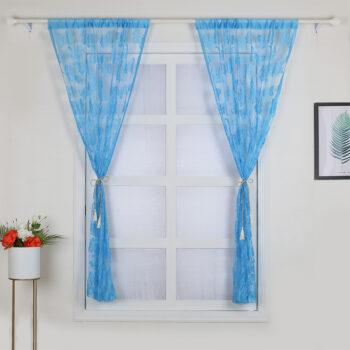 Accessories 100X200cm Butterflies Curtain  for Window Door Home Living Room Decoration sky blue_100x200cm PHO_0HDQN6SA at TotalPro.com.au - Australia