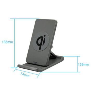 Cables & Chargers Mobile Phone Holder Wireless Charger Adjustable Mobile Phobe Bracket Vertical wireless charging Suitable for Apple Samsung Gray PEL_0AURXYL1 at TotalPro.com.au - Australia