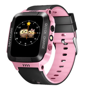 Cell Phone Watch Anti-lost Child Kid Smartwatch Positioning GPS Wristwatch Track Location SOS Call Safe Care Y21 button version black powder PEL_0D0NL4XO at TotalPro.com.au - Australia