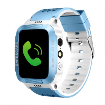Cell Phone Watch Anti-lost Child Kid Smartwatch Positioning GPS Wristwatch Track Location SOS Call Safe Care Y21 button version black and blue PEL_0D0NVWJU at TotalPro.com.au - Australia