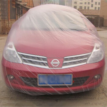 Dust Cover Disposable Car Cover Waterproof Transparent Plastic Dustproof Cover Car Rain Covers White transparent_M PAU_04WQ4059 at TotalPro.com.au - Australia