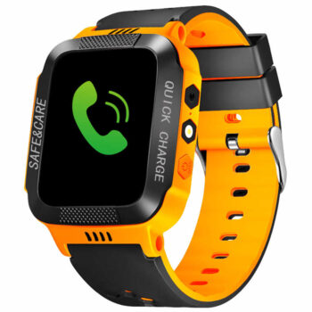 Cell Phone Watch Anti-lost Child Kid Smartwatch Positioning GPS Wristwatch Track Location SOS Call Safe Care Y21 touch screen + camera black orange PEL_0D0NVDIP at TotalPro.com.au - Australia