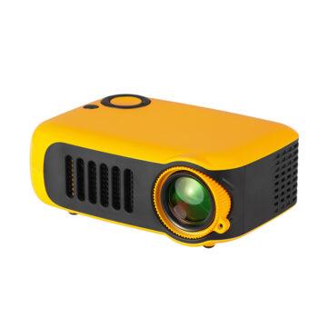 HD Projectors A2000 Mini Portable Digital Projector Home Use 720P High Definition Projector Orange_AU Plug PEL_0EOD27IR at TotalPro.com.au - Australia