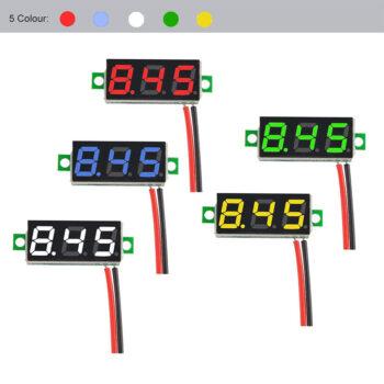 Others 0.28 Inch 2.5V-30V Mini Digital Volt Meterr Voltage Tester Meter red PEL_034AV98F at TotalPro.com.au - Australia