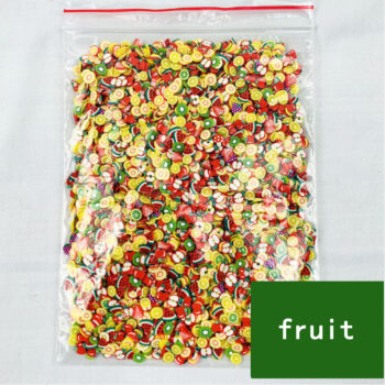 Cosmetics 1000 Pcs 3D Fruit Pastry Tiny Slices Polymer Clay DIY Beauty Nail Stickers Decorations Fruit 1000 pieces / bag PBE_06BGOFNP at TotalPro.com.au - Australia
