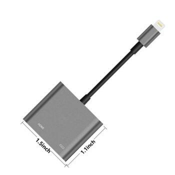 Audio and Video Accessories Lightning to HDMI Adapter Lightning Digital PEL_01CPRZYR at TotalPro.com.au - Australia