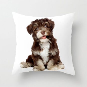 Bedding Lovely Dog Pattern Pillow Case Waist Throw Cushion Cover for Home Sofa Car Decoration(No Pillow Inner) 4#_40X40CM (without pillow inner) PHO_07GMYZ9E at TotalPro.com.au - Australia
