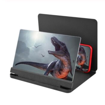 Others 10 12 inch Mobile Phone 3D Screen Video Magnifier Bracket Folding Enlarged Desktop Smartphone Movie HD Amplifying Projector Stand black_10 inches PEL_0B230RXI at TotalPro.com.au - Australia