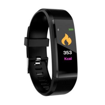 Cell Phone Watch 115plus Bluetooth Smart Watch - Black NCV-PEL_02Q1PYHX at TotalPro.com.au - Australia