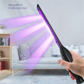 Household UV Disinfection Stick LED Sterilizer Wand Germicidal Lamp Bacteria Killer Disinfection Light black PHO_0MDAREXJ at TotalPro.com.au - Australia