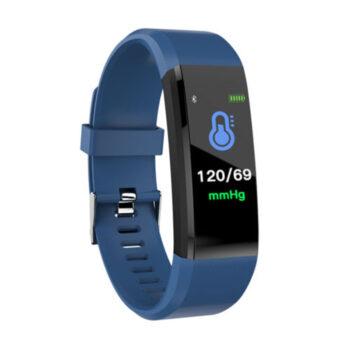 Cell Phone Watch 115plus Bluetooth Smart Watch - Blue NCV-PEL_02Q1D0UV at TotalPro.com.au - Australia
