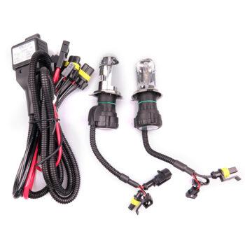 TotalPro – 2pcs 55W H4 HID Bi-Xenon HI/LOW Headlight Bulbs Conversion KIT 3000-12000K