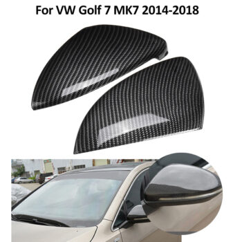 Car Cover 2 pcs Car Side Mirror Cover Trim FIt for VW Volkswagen Golf 7 MK7 2014 2015 2016 2017 2018 PAU_06IPLR07 at TotalPro.com.au - Australia