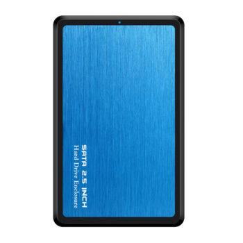 USB + PC Accessories 2.5 Inch SSD HDD Case SATA to USB 3.0 Adapter Hard Driver Enclosure Alloy Support 6TB HDD Disk blue PEL_0BBD6WFT at TotalPro.com.au - Australia
