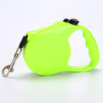 Dog Pet Automatic Retractable Walking Lead Leash with Flat Rope for Dog green_5 meters PHO_09Y4DONY at TotalPro.com.au - Australia