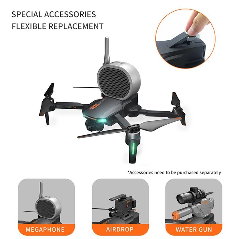 4K GPS Drone with Camera 2-Axis Anti-Shake Servo Gimbal Quadcopter Profesional Dron Quadrocopter VS SG906 PRO FIMI Zino
