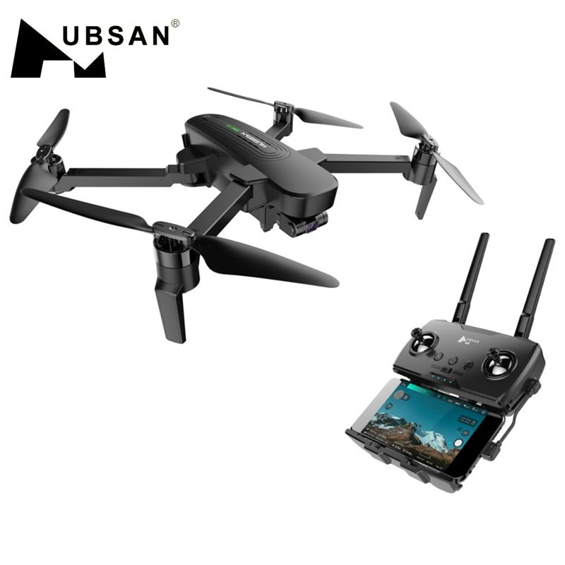 Hubsan Quadcopter ZINO PRO GPS 5G WiFi 4KM FPV with 4K UHD Camera 3-Axis Gimbal Sphere Panoramas RC Drone Quadcopter RTF Version