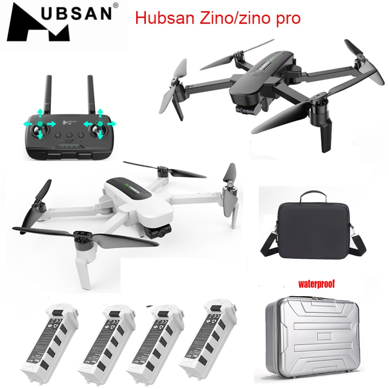 Stock Hubsan H117S Zino /zino pro GPS 5.8G 4km FPV with 4K UHD Camera 3-Axis Gimbal RC Drone Quadcopter RTF High Speed