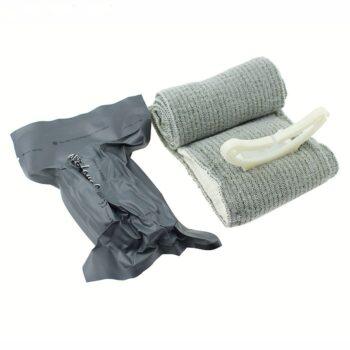 TotalPro – Emergency Hemostasis Elastic Bandage Sterilized OutdoorTactical Medical Bandage 10CM*200CM…