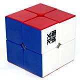 TotalPro – 2x2x2 YJ Moyu Lingpo Stickerless Cube Speed puzzle Smooth 2×2…