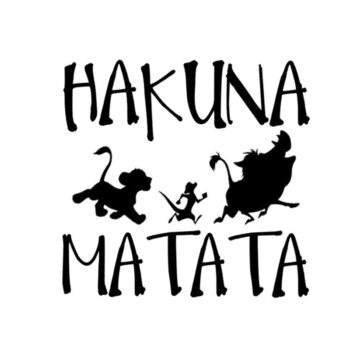 TotalPro – Delicate HAKUNA MATATA Lion King Simba Car-Styling  Car Sticker…