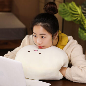 TotalPro – 15Inches Cute Cartoon Doll Plush Toy Stuffed Throw Pillow Hand…