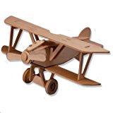 TotalPro – 3-D Wooden Puzzle – Small Biplane Model Albatros Dv -Affordable…