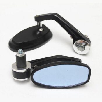 """TotalPro – 1 Pair 22MM 7/8″"""" Aluminum Rear View Mirrors Adjustable for…"""
