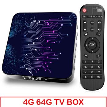 TotalPro – 4+64gb Tv Box Tp02 Rk3318 Android 10 Tv Box…