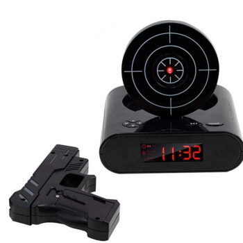 TotalPro – 72-CB340 LED Display Alarm Clock Game Infrared Induction Target…