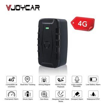 Real FDD LTE 4G GPS Asset Tracker Locator LK900B Vehicle Car GPS Tracking Big Battery 10000mAh Voice Monitor Remotely Free APP